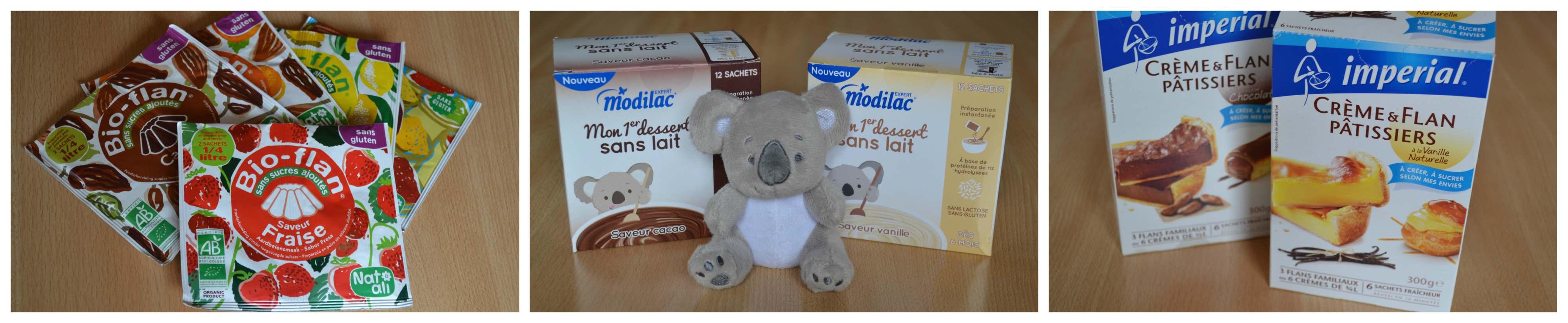 Desserts au lait infantile (Modilac Riz AR) pour bébé APLV IPLV, sans lait, sans gluten Bouillondidees