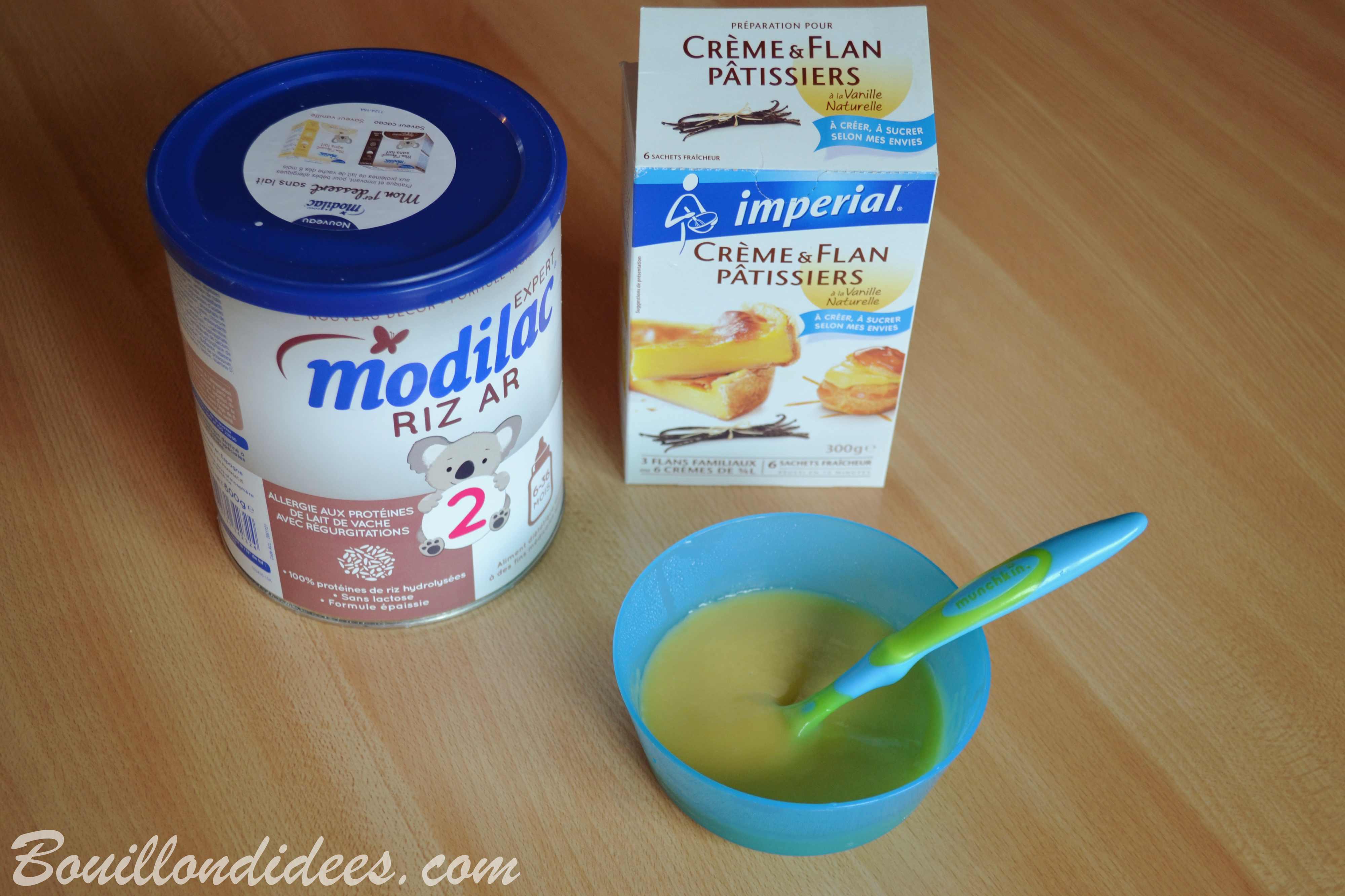 desserts pr 233 parations au lait infantile pour b 233 b 233 aplv iplv bouillon d id 233 es