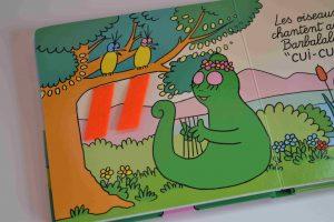Livres à toucher premiers livres bébé Mon livre à toucher Barbapapa - La Famille (éditions Dragon d'or) Bouillondidees 2