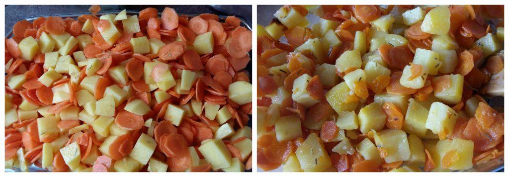 Omnicuiseur, four basse température pomme de terre et carottes sautées Bouillondidees