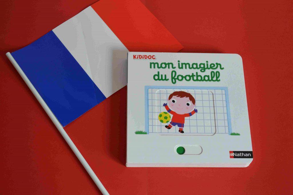 Idées de lecture Foot - spécial Euro 2016 - Mon imagier du football Nathan