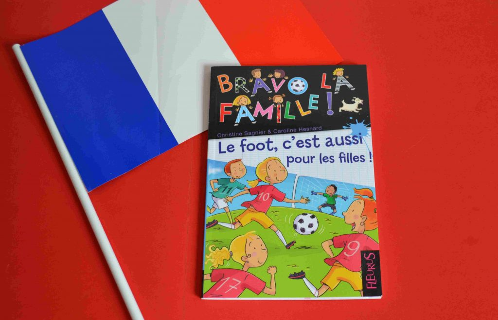 Idées de lecture Foot - spécial Euro 2016 - Le foot, c'est aussi pour les filles ! (Éditions Fleurus)