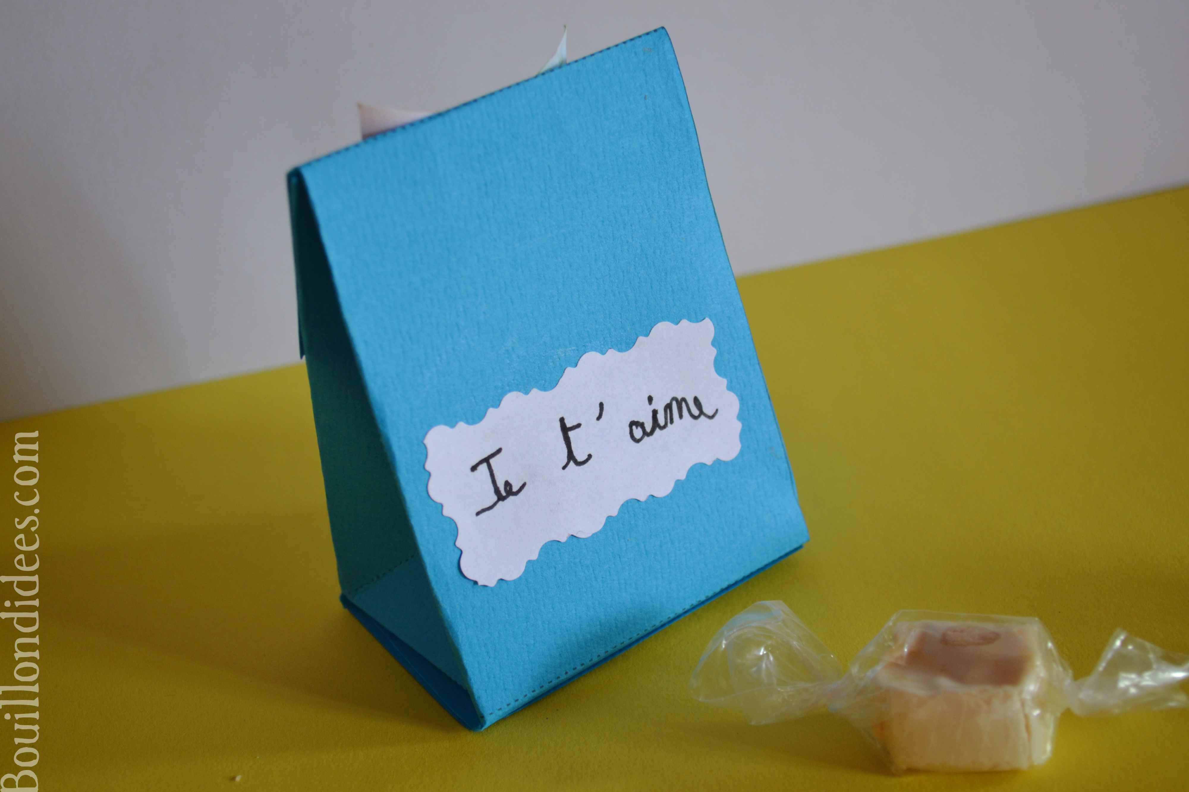 Diy f tes des p res pochette cadeau surprise bouillon d 39 id es - Idee cadeau surprise ...