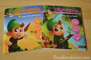 Cahiers de devoirs et d'activités pour les vacances 6-7 ans CP Ce1 les jeux de Kimamila Bouillondidees