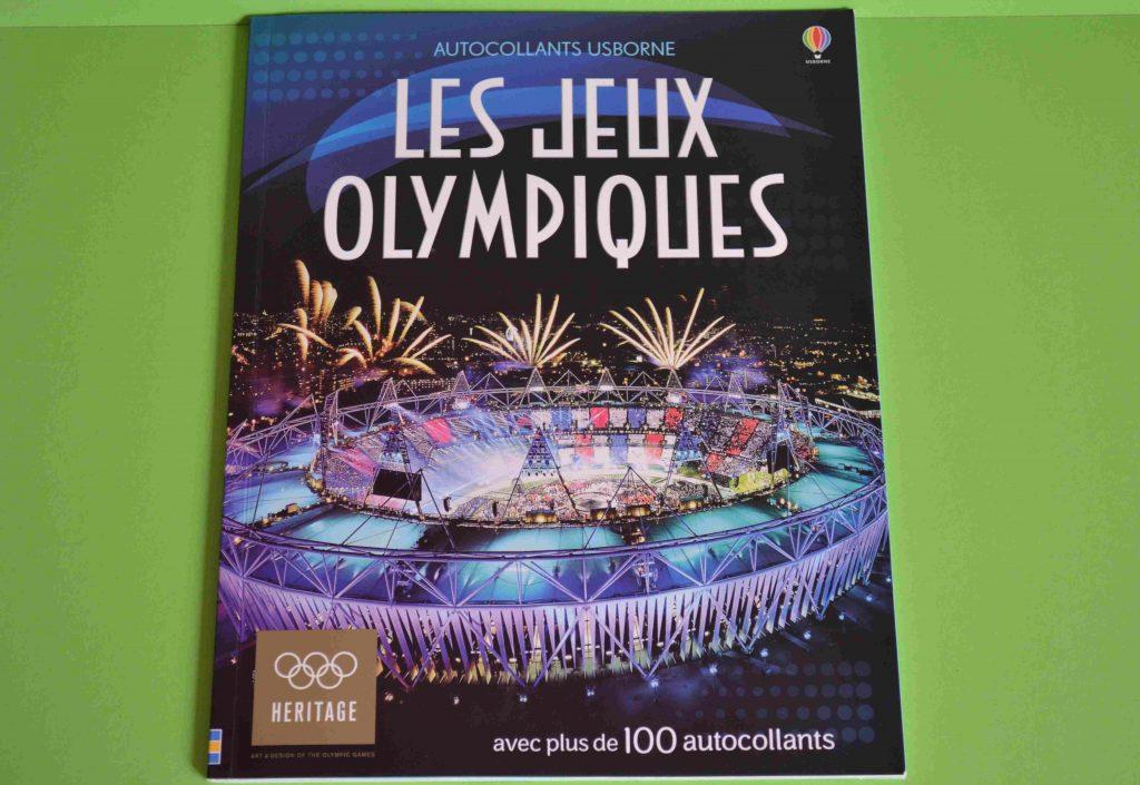 Idées Lecture Les jeux olympiques Autocollants (Usborne)