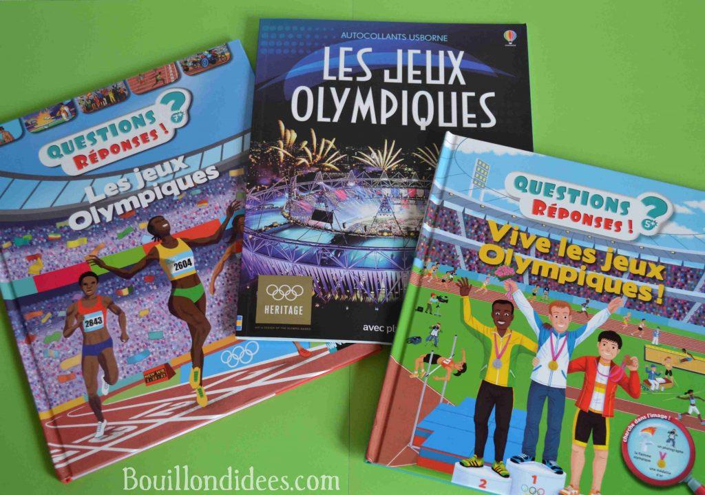 Idées Lecture spécial JO Jeux olympiques