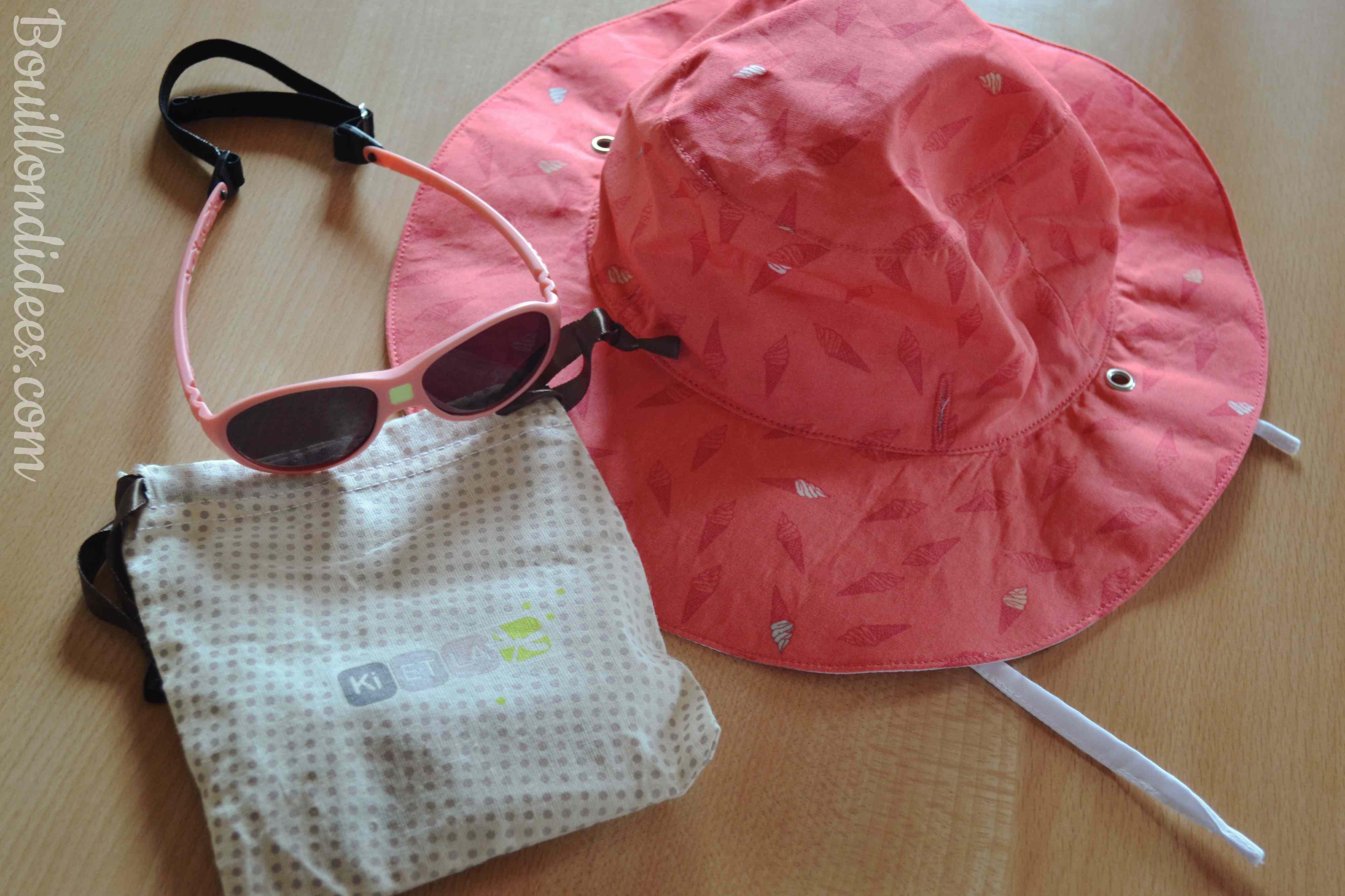 bd113db4d90c89 Profiter du soleil avec bébé chapeau Kapel Lunettes Jokaki Ki Et La  Bouillondidees ...