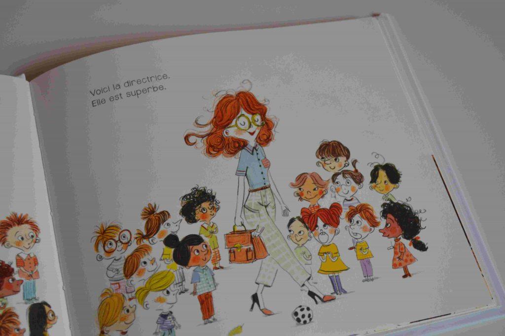 Le doudou de la directrice (Didier jeunesse) - livres pour la rentrée, l'école