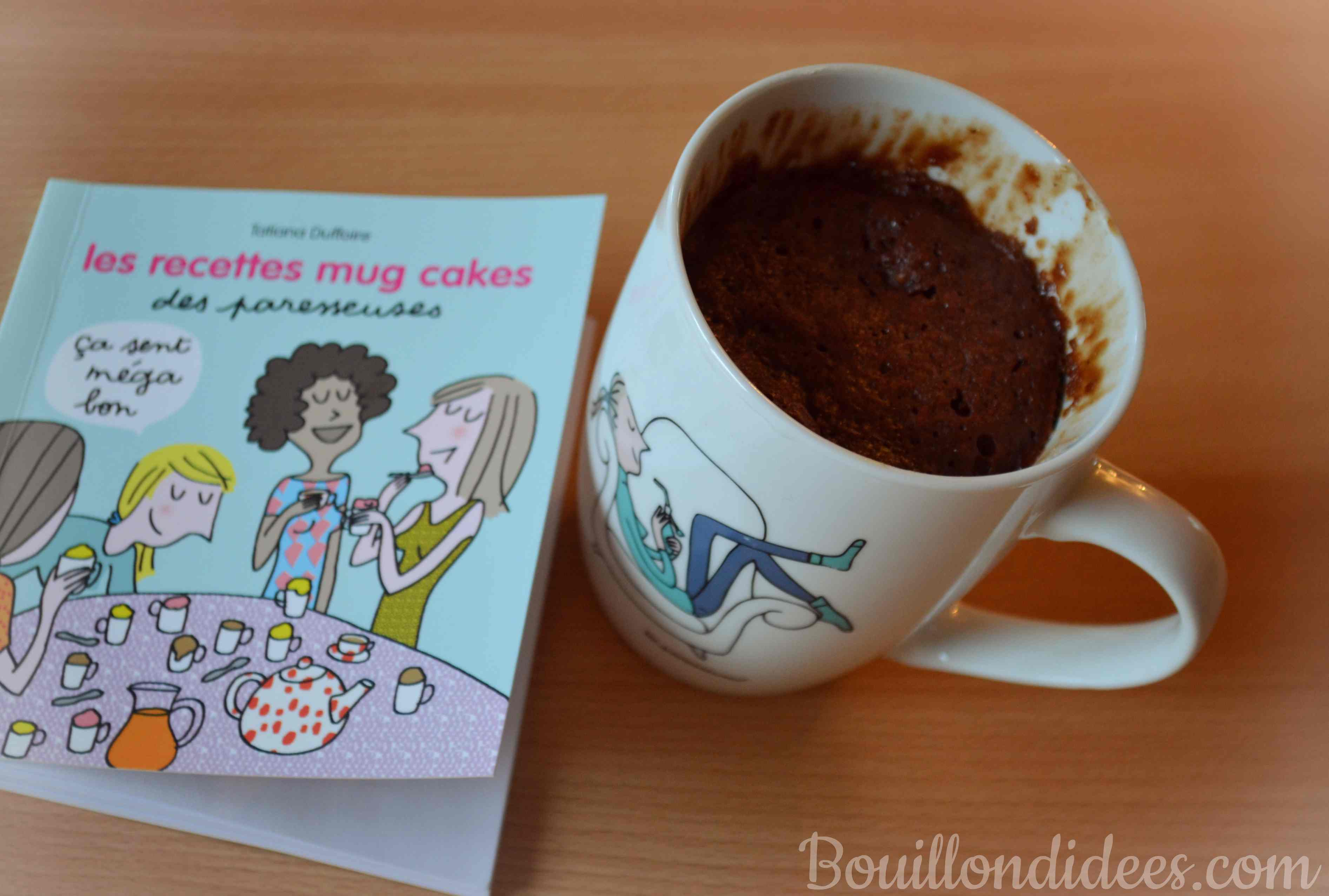 Mug Cake Chocolat Noir Sans Oeuf