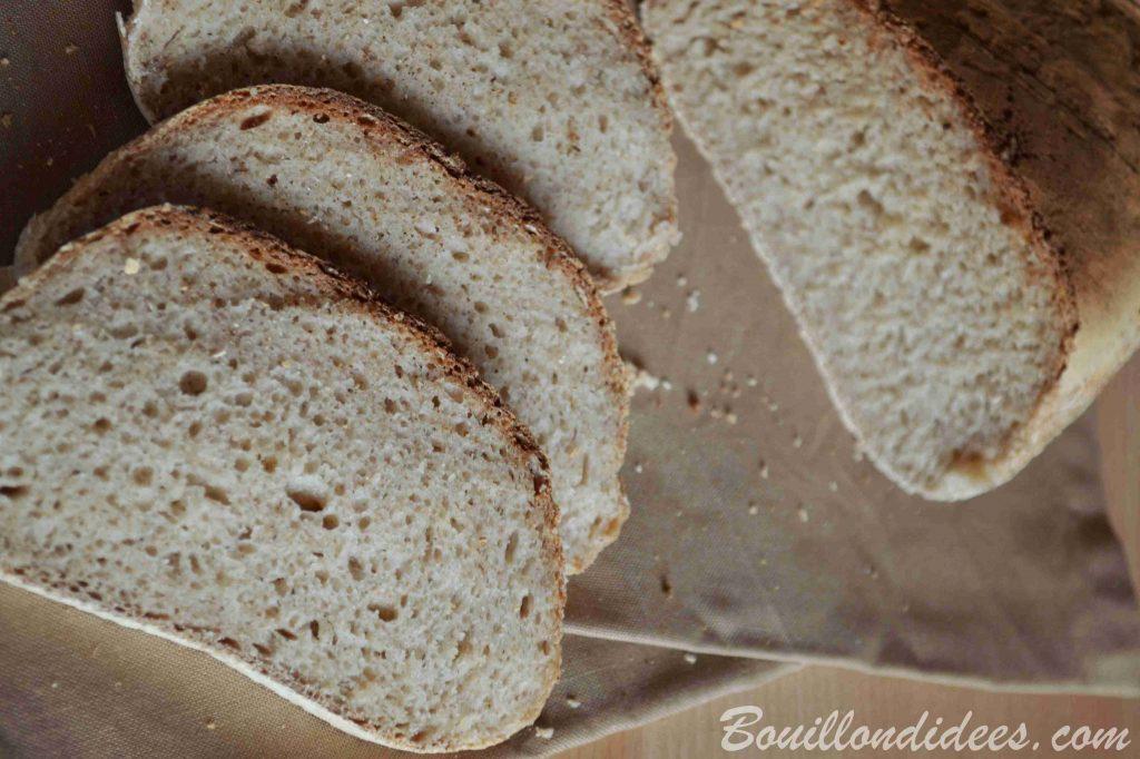 Pain sans gluten à la farine de teff cuit à l'Omnicuiseur