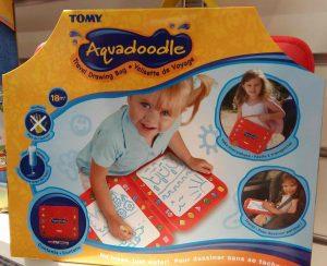 Valisette de voyage Aquadoodle Tomy (idée cadeau Noël 2016)