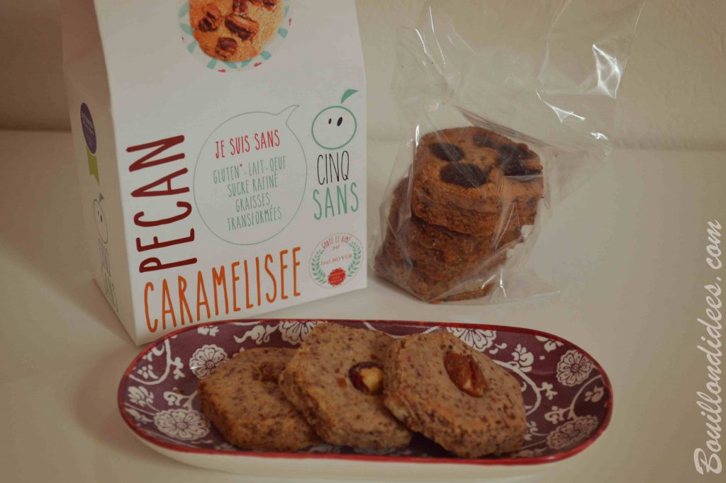 """Il y a du nouveau à l'heure du goûter (et du """"Sans GLO"""" - sans gluten, sans lait, sans œuf) biscuits et cookies Cinq Sans"""