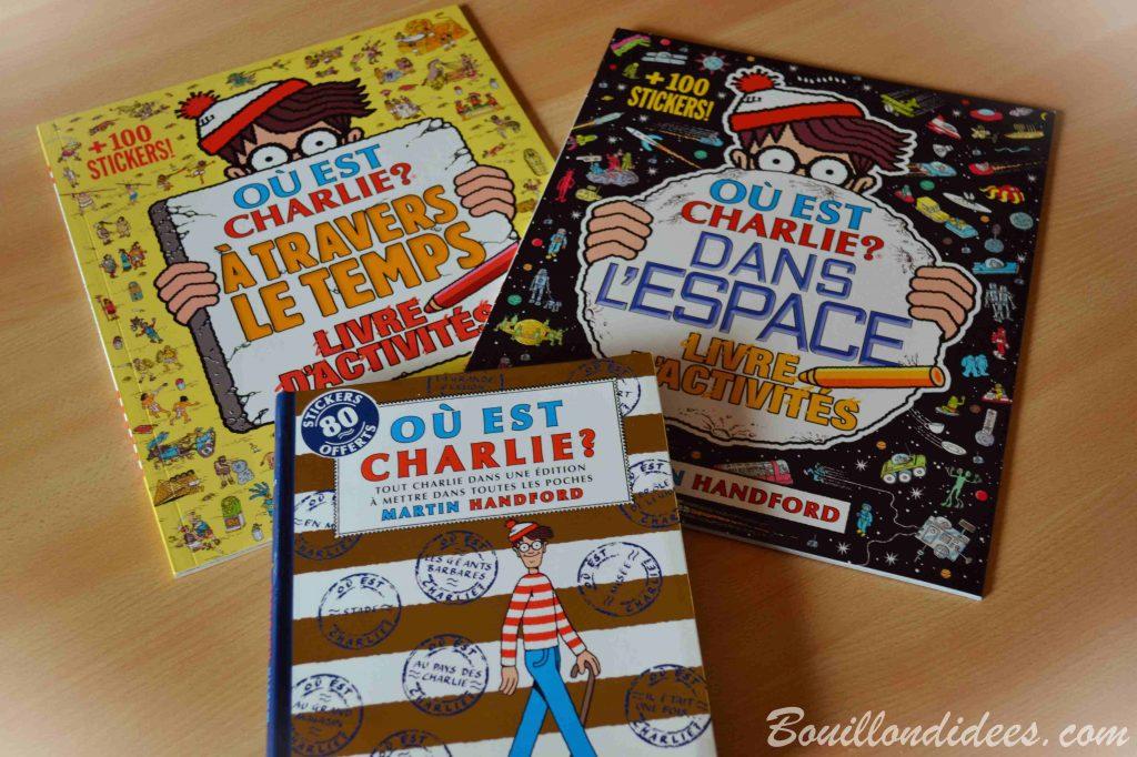 """Nos idées Lecture : spécial """"Où est Charlie"""" (livres jeunesse)"""