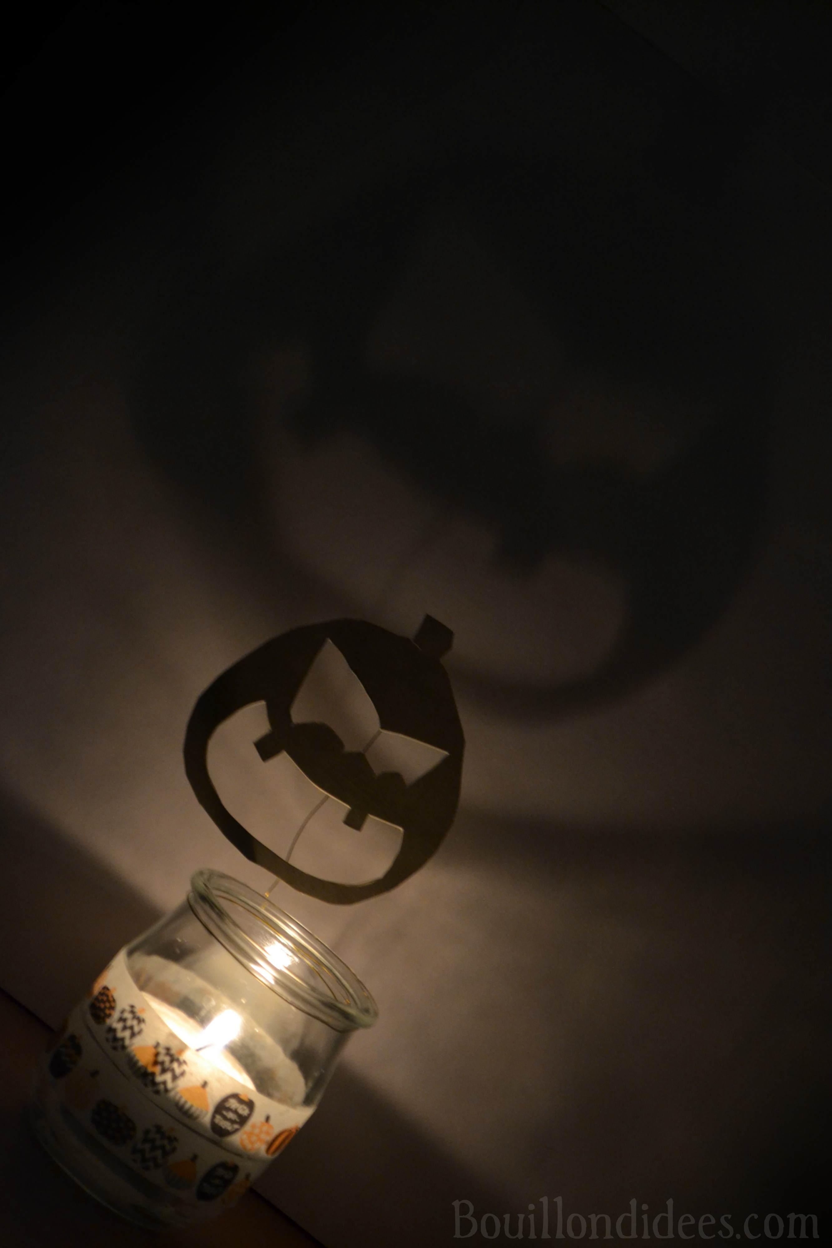 Photophores d 39 halloween aux ombres monstrueuses diy - Citrouille effrayante ...