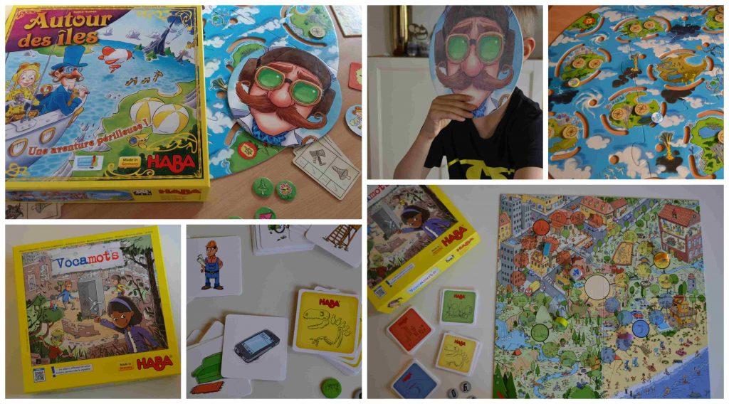 Vocamots & Autour des îles : des jeux Haba pour les 5-7 ans (Blog Joueur Complice ambassadrice Haba)