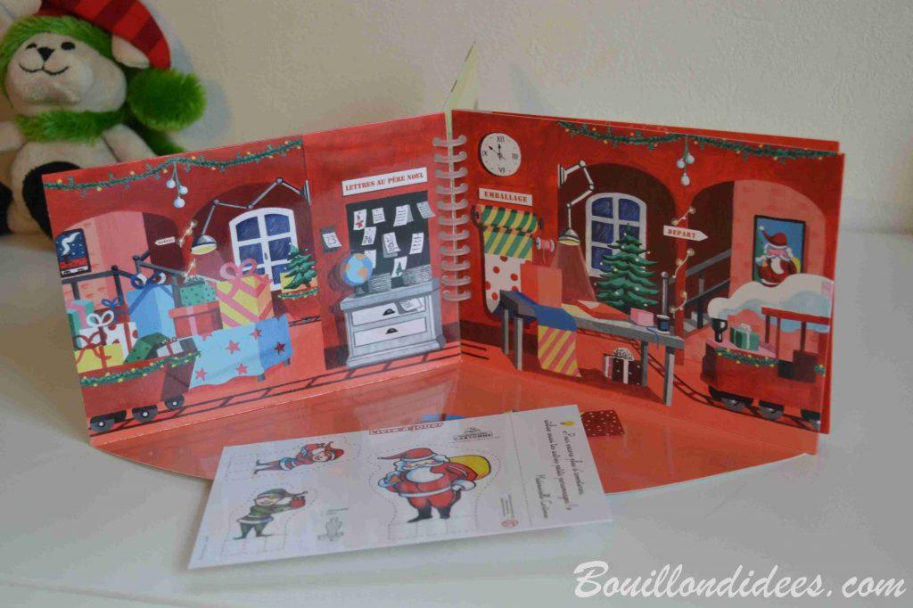 Livre à jouer spécial Noël, de Mademoiselle Cartonne