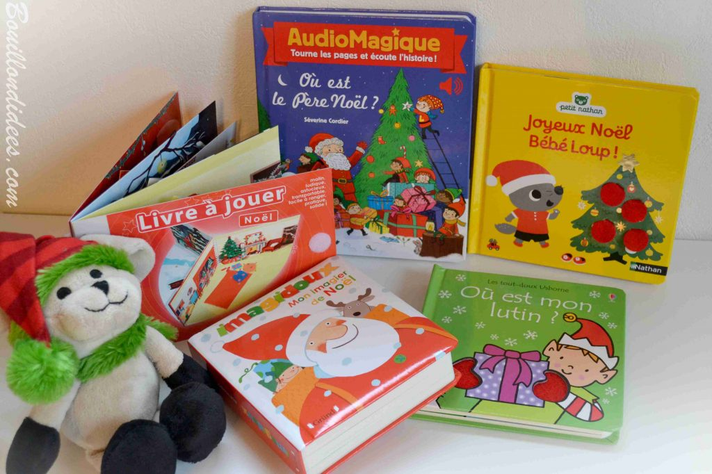 Nos idées lecture des livres pour plonger bébé dans l'ambiance de Noël Bouillon d'idées
