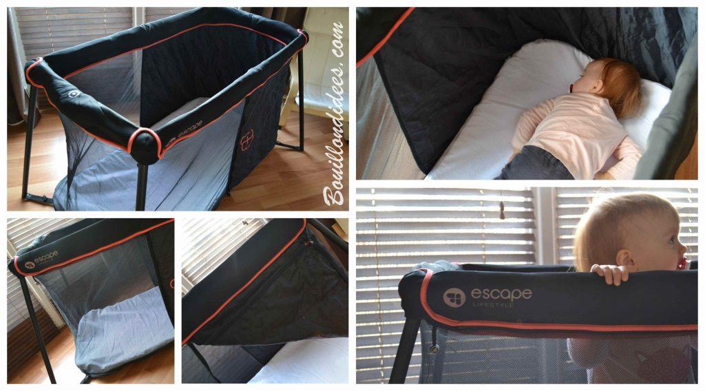 Le Lit Naos d'Escape Lifestyle : le top pour voyager avec bébé (2/2)