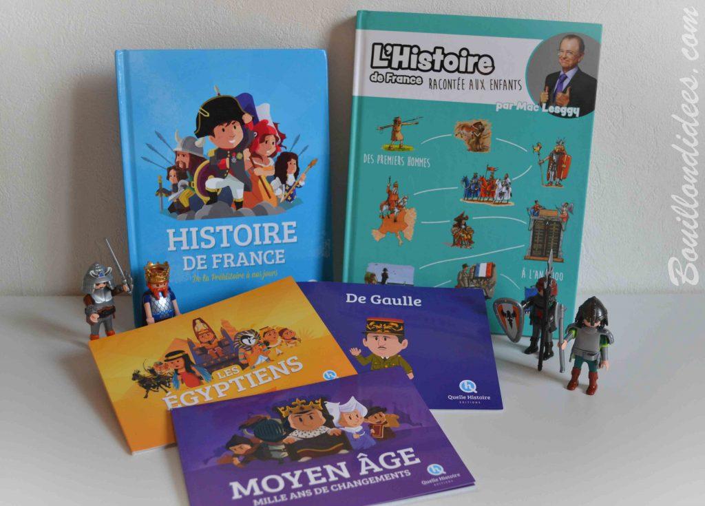 Nos idées Lecture : des livres pour découvrir l'Histoire