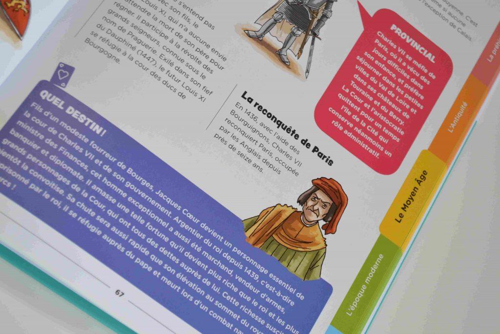 Nos idées Lecture des livres pour découvrir l'Histoire L'Histoire de France racontée aux enfants, de Mac Lesggy Bouillondidees