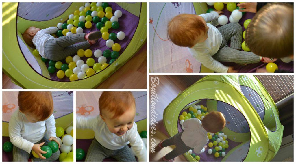 Le Cub'à balles Papillon, de Ludi : comment amuser es enfants, même dans un appartement ! (Test & Avis)