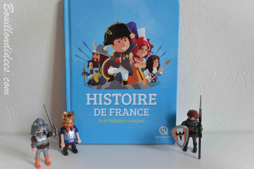 Nos idées Lecture : des livres pour découvrir l'Histoire - Histoire de France (Quelle Histoire Éditions)