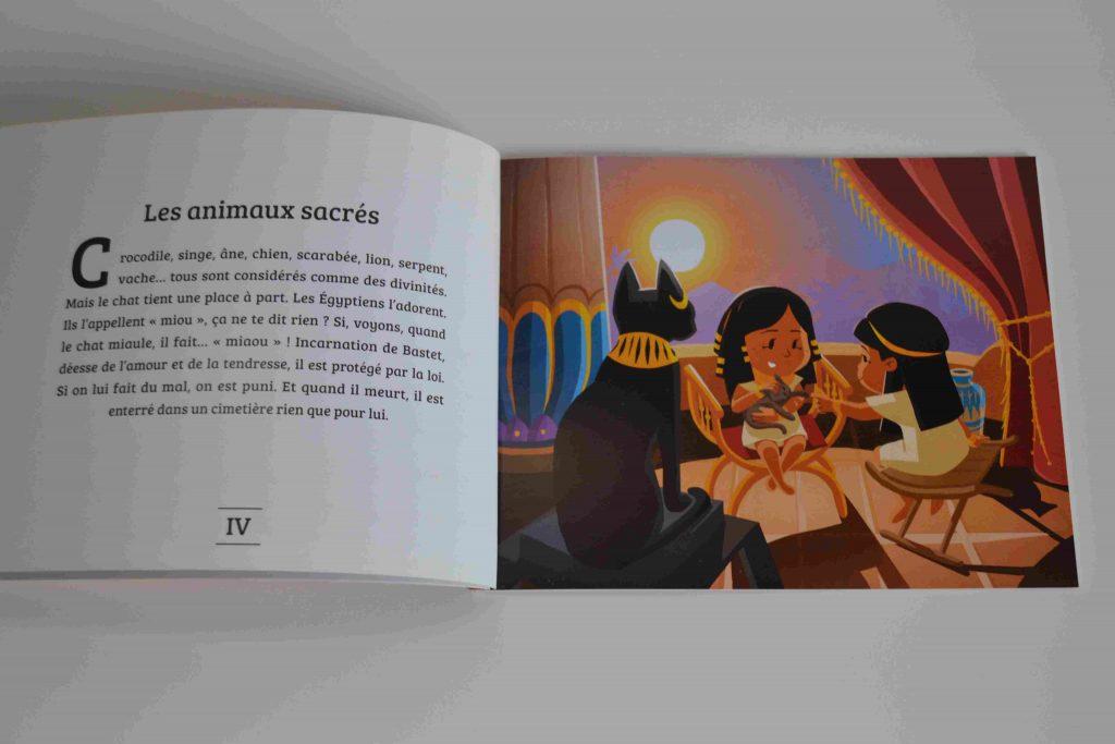 Les petits livres ludiques de Quelle Histoire : les Egyptiens