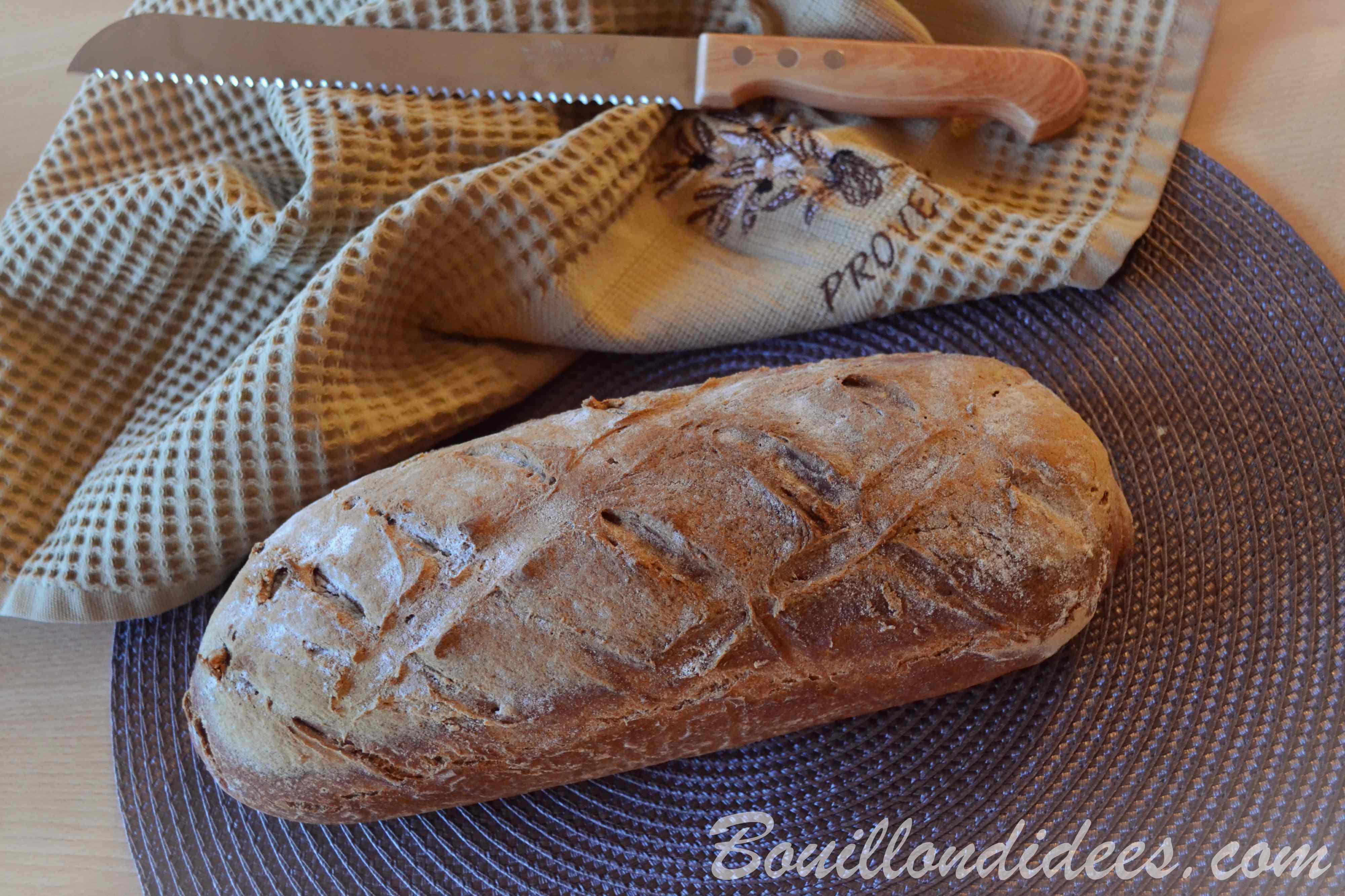 pain sans gluten la farine de sarrasin recette facile. Black Bedroom Furniture Sets. Home Design Ideas