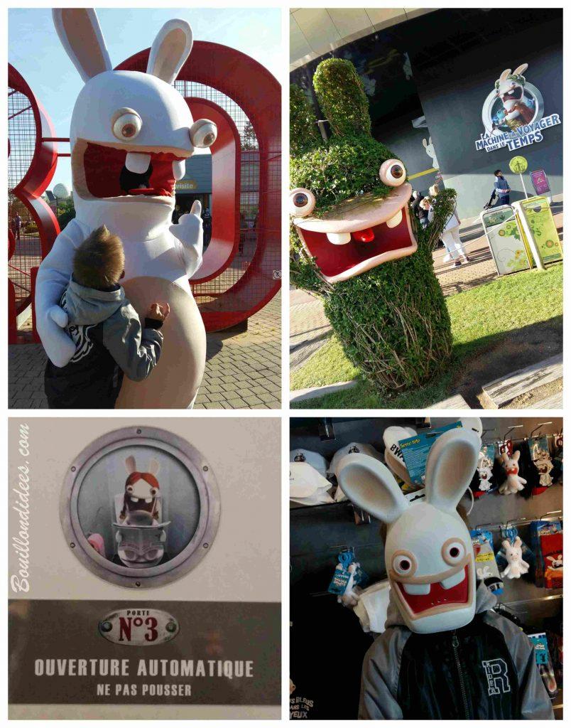Notre visite au Futuroscope, en 3D : test, avis et conseils (lapins crétins)