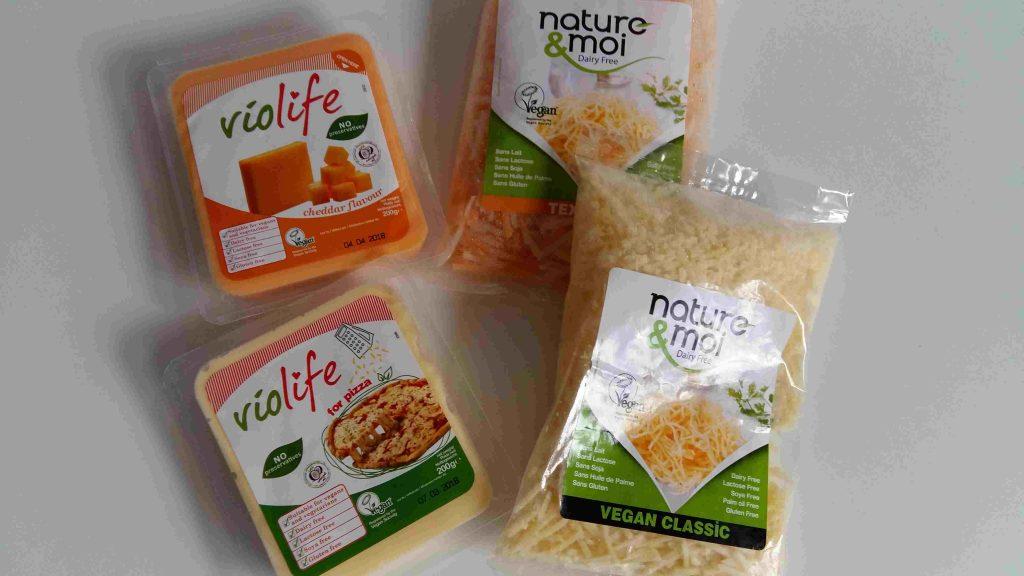 Mon TOP 10 de produits sans gluten & cie, du SAAPS 2017 (Salon des Allergies Alimentaires et des produits Sans) Fromages vegan Nature & Moi Violife