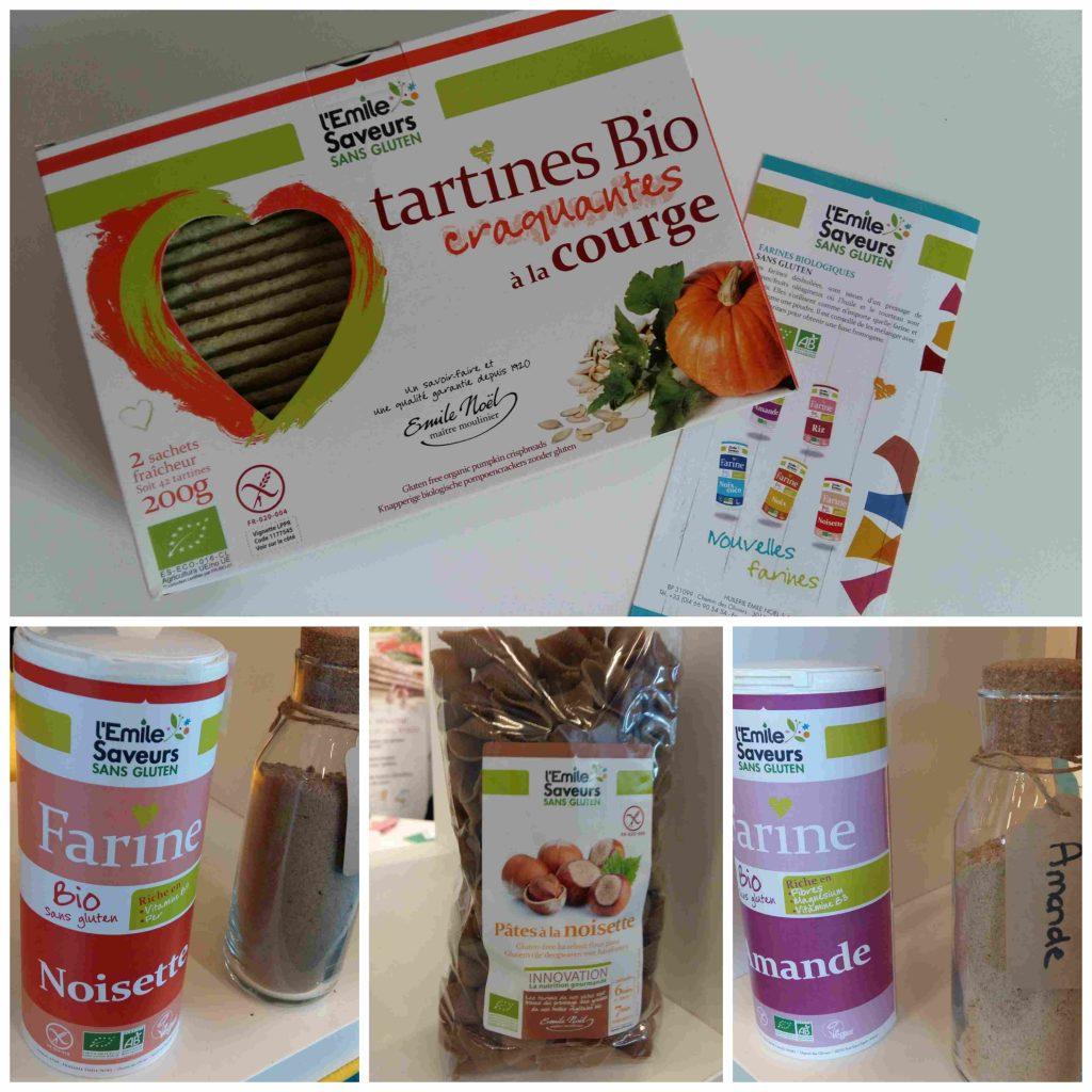 Mon TOP 10 de produits sans gluten & cie, du SAAPS 2017 (Salon des Allergies Alimentaires et des produits Sans) L'Emile Saveurs sans gluten