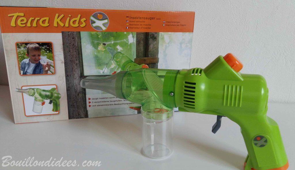 Aspirateur à insectes - S'amuser en plein air avec les jeux Terra Kids HABA (Test & Avis)