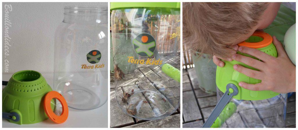 Le récipient à loupe - S'amuser en plein air avec les jeux Terra Kids HABA (Test & Avis)