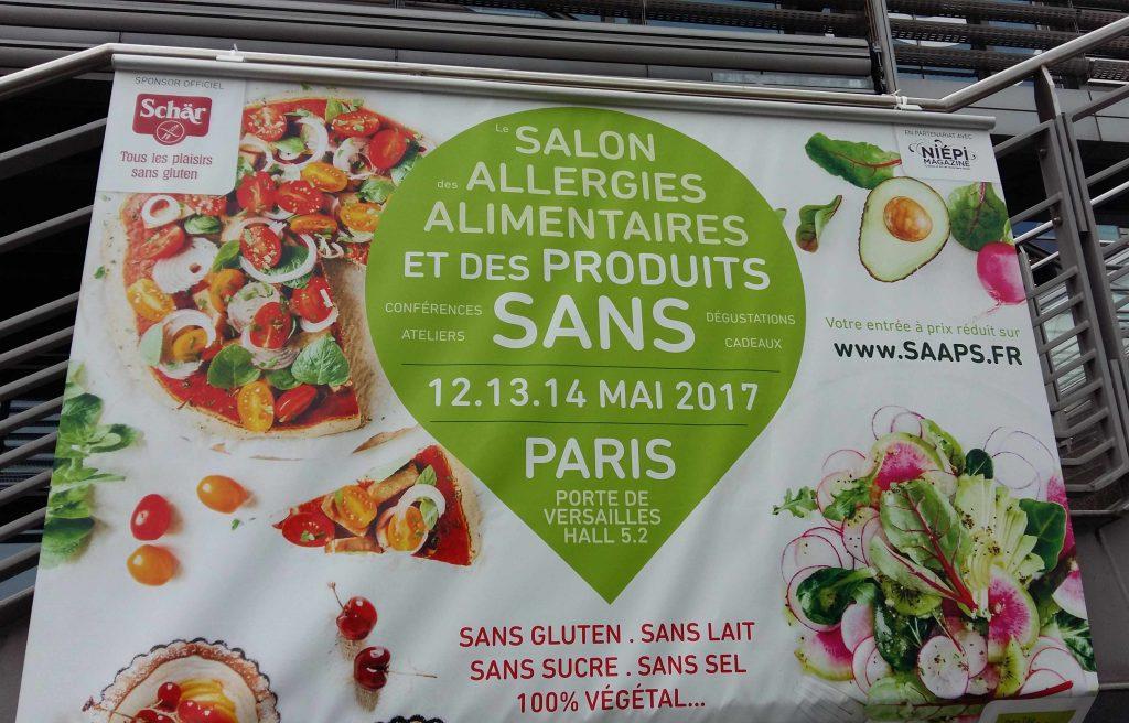 Mon TOP 10 de produits sans gluten & cie, du SAAPS 2017 (Salon des Allergies Alimentaires et des produits Sans)