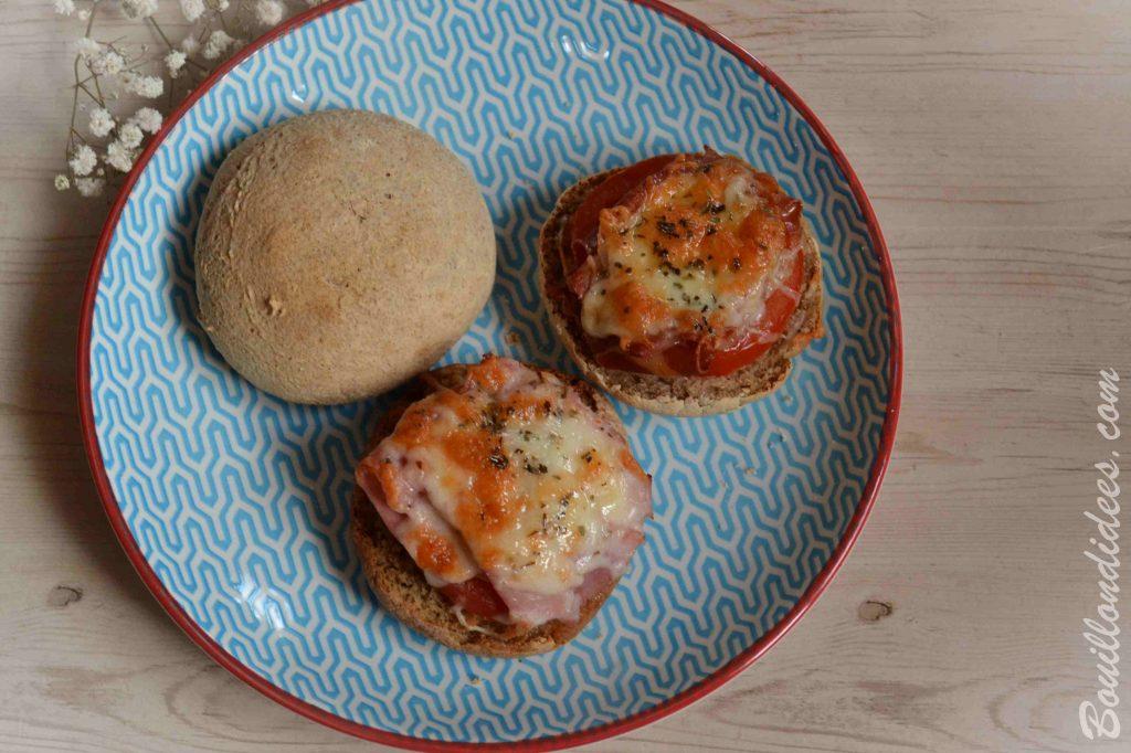 recette sans allergène : Des bruschettas au sarrasin, sans GLO (sans gluten, sans lait et sans oeuf) - cuisson basse température à l'Omnicuiseur
