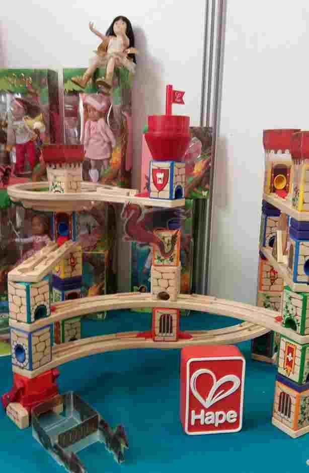 Mon top 10 pour Noël, repéré lors de la Journée Presse Jouets et Jeux 2017 - La forteresse Quadrilla (Hape)