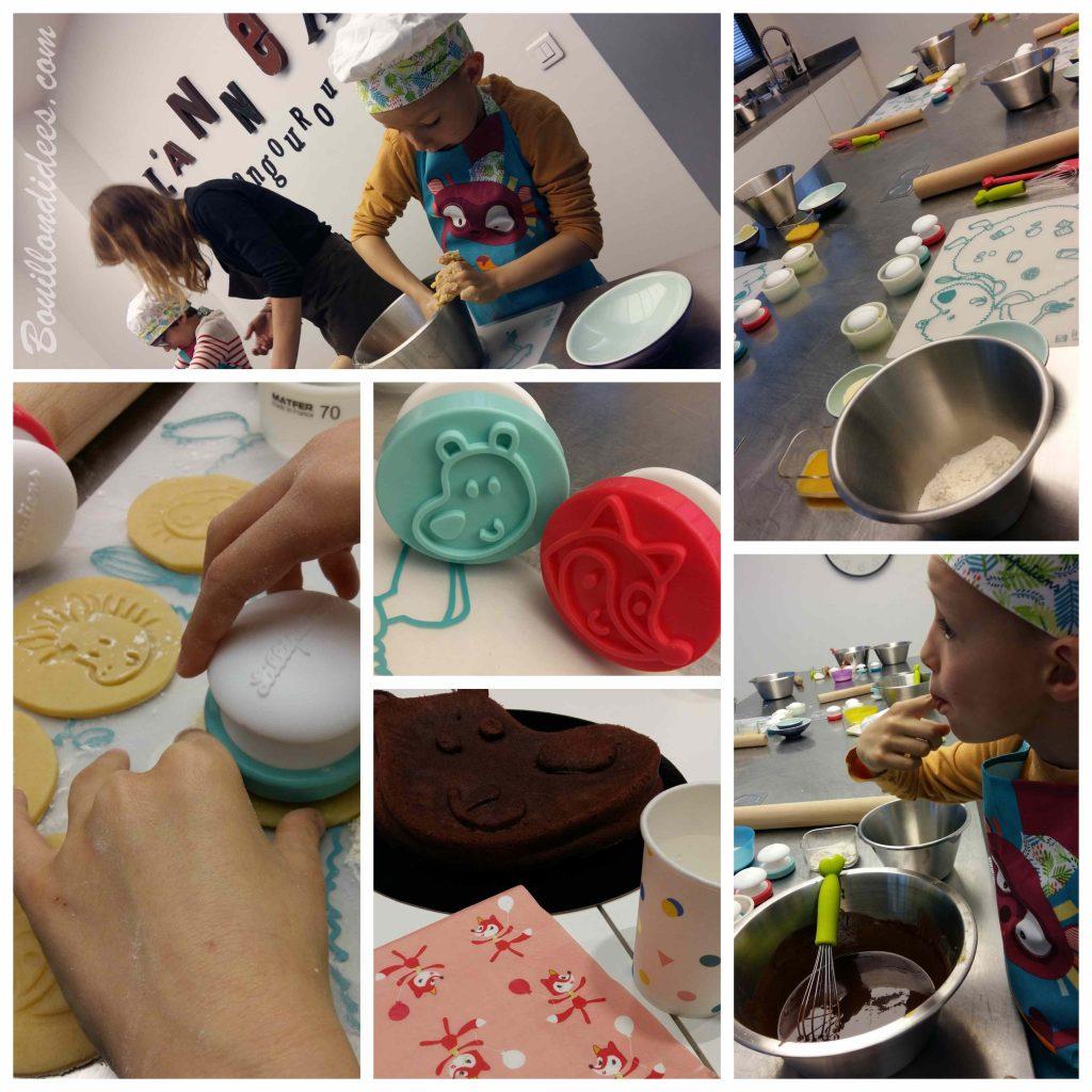 Un gâteau au chocolat sans gluten sans lait, simplissime, avec Little Chef de Lilliputiens - atelier cuisine enfant Annexe Kangourou