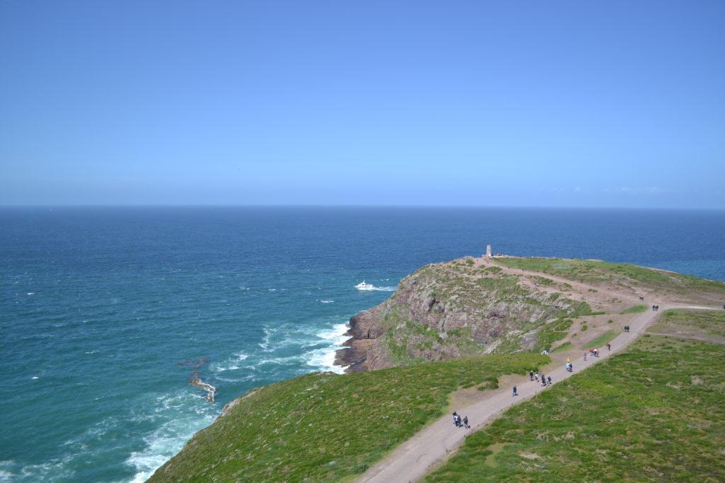 Un séjour en Bretagne sous le soleil (et sans gluten !) - Campéole - pointe Cap Fréhel - blog Bouillondidees