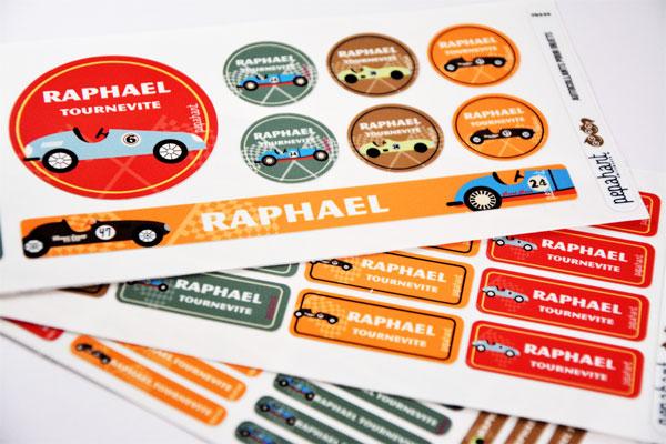 Les étiquettes thermocollantes Pepahart pour vêtements des enfants, pour une rentrée en toute sérénité  - Blog Bouillondidees