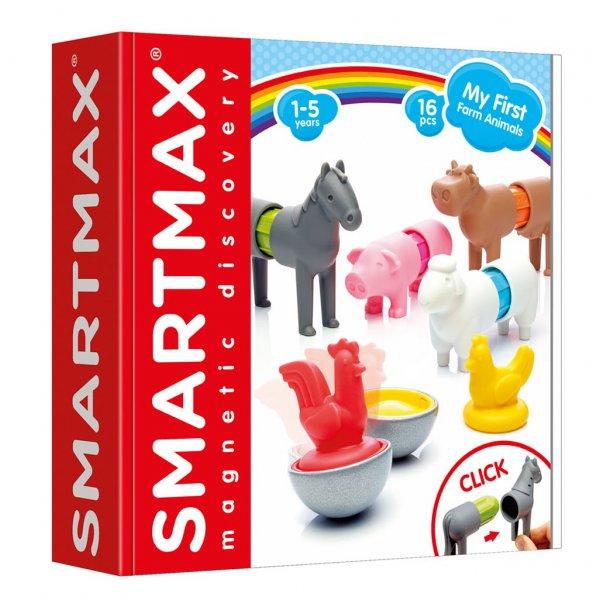 Animaux de la ferme magnétiques (Smartmax) - Mon Top Cadeaux de Noël 2018, pour filles 3-5 ans - Blog Bouillondidees