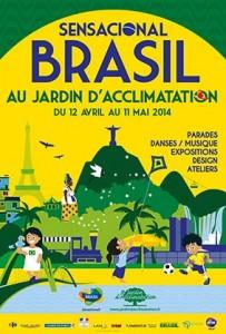 Que faire avec les enfants pendant les vacances de paques ? Aller au festival Sensacional Brasil au Jardin d'Acclimation