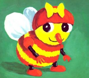 20 ans des drôles de petites bêtes Mireille l'abeille Bouillondidees