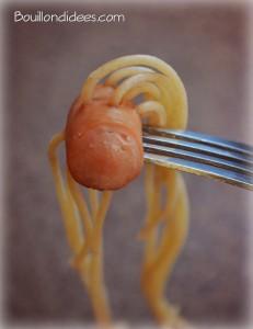 Knaks spaghettis8 Bouillondidees