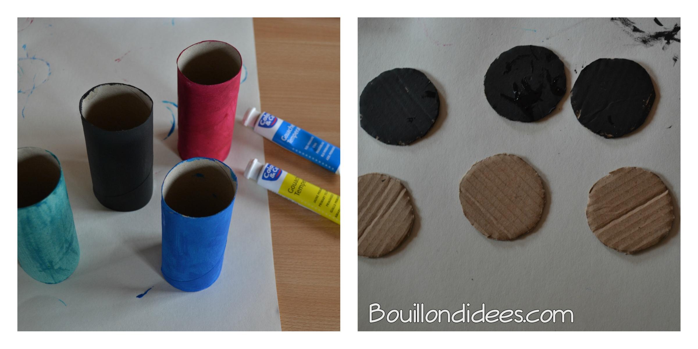 recyclez vos rouleaux de papier toilette en voitures de. Black Bedroom Furniture Sets. Home Design Ideas