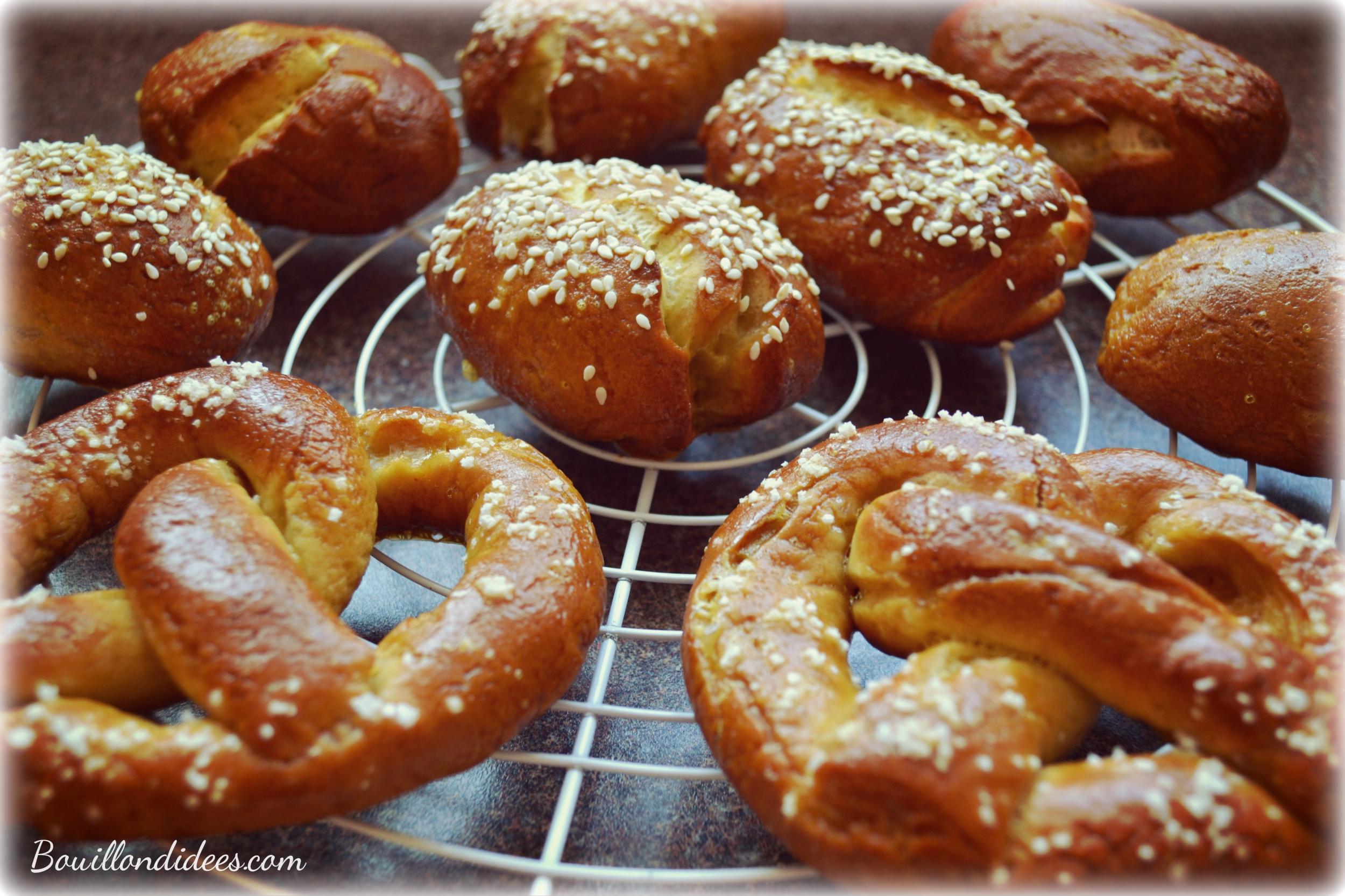 Bretzels et mauricettes sans gluten sans GLO Bouillondidees