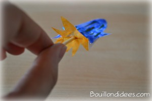 Fusée propulseur paille et cure-dent 5 Bouillondidees