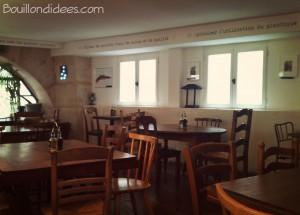 Restaurant Vert Midi sans gluten Intérieur Bouillondidees