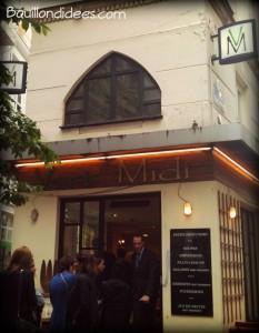 Restaurant Vert Midi sans gluten Paris Bouillondidees