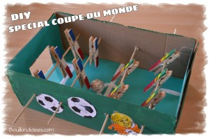 DIY coupe du monde mini baby-foot Bouillondidees