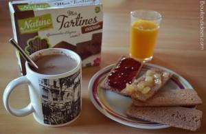 Natine petit déjeuner Tartines Bouillondidees